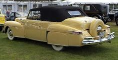 1947 Lincoln Continental Convertible...Brought to you by #House of #Insurance #EugeneOregon