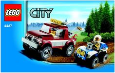 LEGO 4437 Police Pursuit instructions displayed page by page to help you build this amazing LEGO City set Police Car Chase, Lego City Police, Police Cars, Best Lego Sets, Lego City Sets, Lego Group, Lego Super Heroes, Lego Instructions, Legos