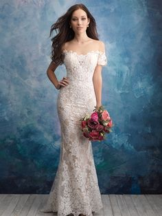 dbc775a1cad Allure Bridal Gown available at The Bridal Shoppe in Crystal City