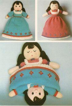 KNITTING PATTERN JEAN GREENHOWE TOPSY-TURVY DOLLY TOY DOLL in Crafts, Knitting, Patterns | eBay
