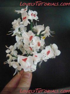 Цветущий каштан  Blossoming Chestnut tutorial