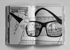 New Book by Ingo Giezendanner at Nieves at JB. Moleskine, Peaceful Places, Cat Eye Sunglasses, New Books, Cool Pictures, Ink, Cool Stuff, Drawings, Color