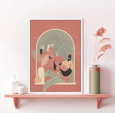 Printing Services, Online Printing, Orange Wall Art, Window View, International Paper Sizes, Terracotta Pots, Minimalist Art, Nursery Wall Art, Neutral Colors