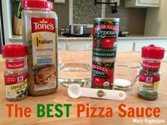 The BEST Pizza Sauce (Freezable)