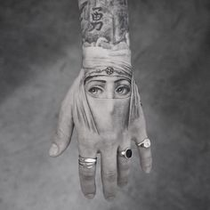 black and grey realism hand tattoo by the great M R.k_tattoo. - Tattoos -Beautiful black and grey realism hand tattoo by the great M R.k_tattoo.