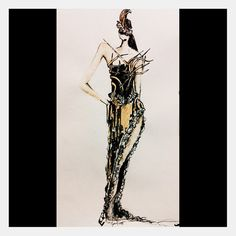 Better quality - Look number 3 from my #ss16 #fashiondesign #collection - #fierce - #fashionillustration using #watercolours #pencil - #architecture meets #contemporaryart #arts #lines #art #skyscraper #architexture #architecturelovers #urban #city #artist #pen #paper #beautiful #artoftheday #artsy #drawing #illustration