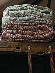 Pretty Quilts.