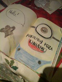 Podesłała Weronika B. #zniszcztendziennik #kerismith #wreckthisjournal #book #ksiazka #KreatywnaDestrukcja #DIY