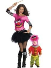 If I had a kid (=....Animal The Muppets Mommy and Me Costumes - Party City