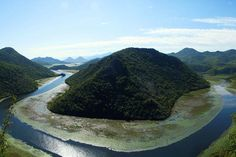 MONTENEGRO: The serpentine Crnojević River at Lake Skadar. Image by Pavlo Hryhorash / CC BY 2.0