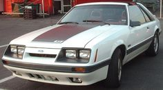 *1985–1986 Ford Mustang GT* -- [Third generation (1979–1993) Body styles included a coupé, (notchback), hatchback, and convertible.]~[Photograph by Bull-Doser - September 5 2007 - Montreal, Quebec, Canada at the Gibeau Orange Julep]'h4d'121106