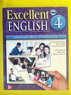 FREE SHIPPING Excellent English Level 4 Language Skills for Success WITH CD #TextbookwithCD #englishbook #english #excellentenglish