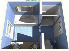 Image result for 8 x 10 master bathroom layout bathroom for Bathroom ideas 8 x 11