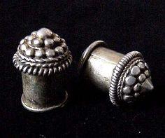 Burmese antique ear-plugs