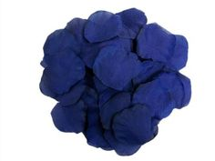 BUYINHOUSE Whole Sale 500pcs Navy Blue Silk Rose Artificial Petals Best Flowers Supplies for Wedding Events and Parties Decorations * More info could be found at the image url.