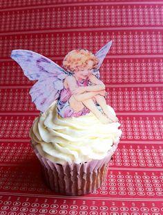 Edible Fairies  1 dozen  Cake & Cupcake toppers  by SugarRobot, $8.95