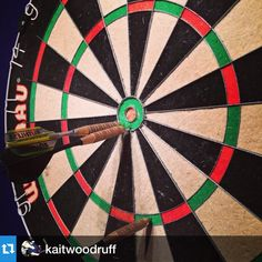 Darts anyone? #Repost #ig Kaitlyn Woodruff: \