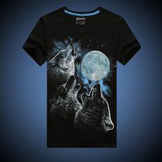 cb8543fb5956 20 Best top 10 2017 3d wolf tshirt for men images