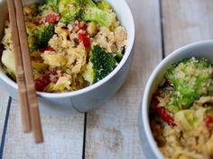 cauliflower and chicken fried rice