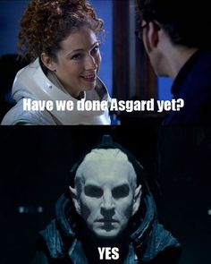 That Was a Weird Time for Me, I Admit...I kept wanting Christopher Eccleson/Malekith to say 'Fantastic!'