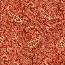 I love paisley! I should have my dining  chairs recovered in this.