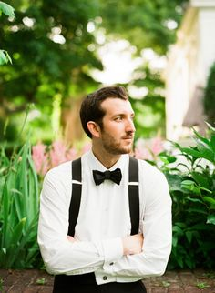 Groom in Suspenders | photography by http://www.lindsaymaddenphotography.com