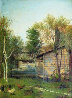 Sunny Day, 1876 Isaac Levitan  .