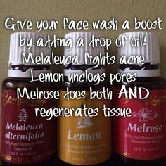 Give your face wash a boost with young living essential oils https://www.youngliving.org/jmurrill68