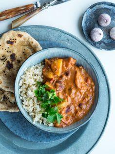 Vegetarisk indisk curry