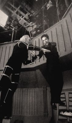 Behind the scenes DS9!
