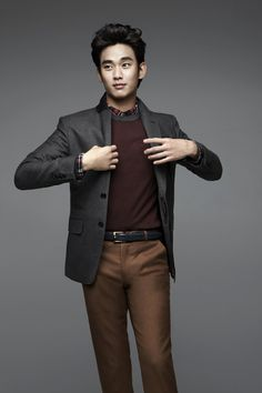 Kim Soo Hyun for ZIOZIA Fall 2012 Ad Campaign