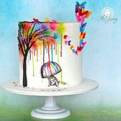 27 отметок «Нравится», 3 комментариев — Товары  для кондитеров (@yoursweety.ru) в Instagram: «В такую погоду хочется побольше ярких красок. Скорее бы уже стабильное тепло. :) Photo and cake by…»