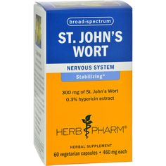 Herb Pharm St Joh... Available here: http://endlesssupplies.store/products/herb-pharm-st-johns-wort-60-vegetarian-capsules?utm_campaign=social_autopilot&utm_source=pin&utm_medium=pin