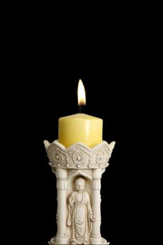 Beautiful Candle and Candlelight