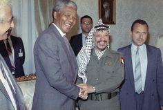With Yasser Arafat