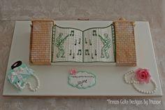 THE GATES OF GRACELAND ~ Music Themed Cakes, Designer Cakes, Dream Cake, Unique Cakes, Novelty Cakes, Centre Pieces, Graceland, Celebration Cakes, Celebrity Weddings