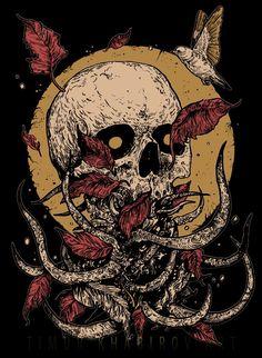 Arte Horror, Horror Art, Art Sketches, Art Drawings, Art Hippie, Apocalypse Art, Satanic Art, Skull Artwork, Arte Obscura