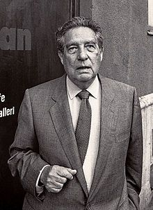 Octavio Paz Lozano-- (March 31, 1914 – April 19, 1998) was a Mexican poet and diplomat. For his body of work, he was awarded the 1981 Miguel de Cervantes Prize, the 1982 Neustadt International Prize for Literature, and the 1990 Nobel Prize in Literature.