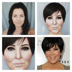 Transformation to Kris Jenner by me.
