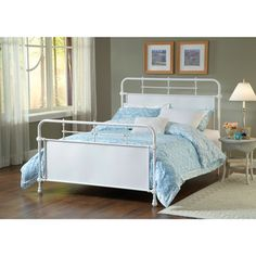Kensington Old Rust Textured White Bed Set - O-stock.