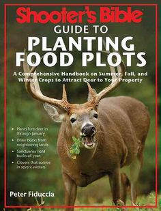 Shooter's Bible Guide to Planting Food Plots: A Comprehensive Handbook on Summer, Fall, and Winter Crops To Attract Deer to Your Property Hunting Guide, Deer Hunting Tips, Bow Hunting, Food Plots For Deer, Bible Guide, Winter Crops, Audubon Society, Winter Plants, Hunting Season