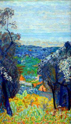 Pierre Bonnard - Paysage du Cannet oder Paysage du Midi, 1926 at Kunstmuseum Winterthur Switzerland (by mbell1975)