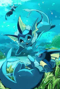 Pokemon Tattoo, Cute Pokemon Pictures, Pokemon Images, Pokemon Comics, My Pokemon, Pokemon Eevee Evolutions, Cute Pokemon Wallpaper, Water Type, Cute Drawings