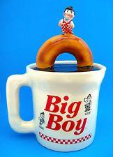 Cookie Jar - Bob's BIG BOY CUP Kathy Wolfe Design Limited Edition of 50 Ceramic