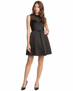 Some of you have to get in on this: Jill Jill Stuart Black Fit & Flare Dress