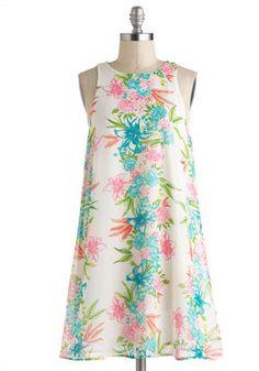 Tropic Sentence Dress, #ModCloth