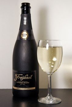 Freixenet Cava- The wine we will serve at my wedding. :-)