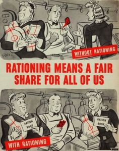Roese, Herbert - War Rationing, 1943 (Prop- US- WWII)