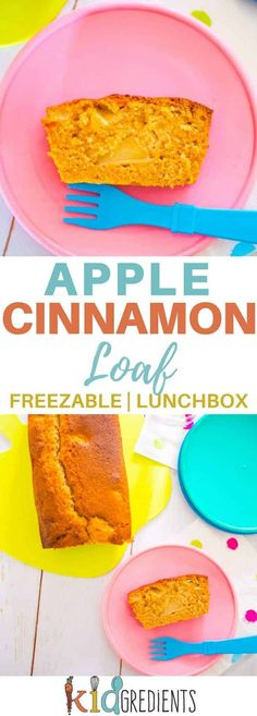 This apple and cinnamon loaf is perfect in the lunchbox and goes in the freezer too! Easy to bake recipe that is so yummy! Apple Cinnamon Loaf, Cinnamon Apples, Cinnamon Drink, Cinnamon Hair, Cinnamon Desserts, Cinnamon Candy, Cinnamon Muffins, Cinnamon Coffee, Cinnamon Cookies
