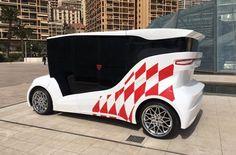 Synchronous: В Монако презентовали первый украинский электромобиль